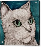 Verde Eyes Acrylic Print