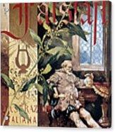 Verdi E Il Falstaff Acrylic Print