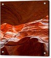 Vermilion Cliffs Abstract Acrylic Print