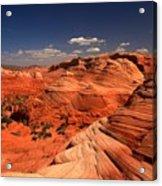 Vermilion Cliffs Rugged Landscape Acrylic Print