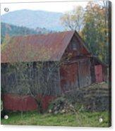 Vermont Barn Acrylic Print