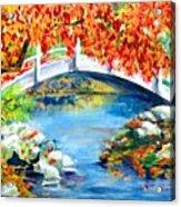 Vermont Bridge Acrylic Print