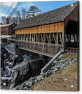 Vermont Covered Bridge Acrylic Print