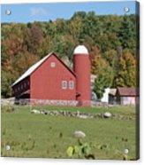Vermont Farm Acrylic Print