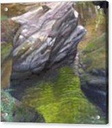 Vermont Fisherman Acrylic Print