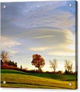 Vermont Hilltop Sunrise Acrylic Print