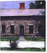 Vermont House Acrylic Print
