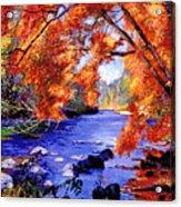 Vermont River Acrylic Print
