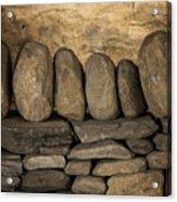 Vermont Rock Wall Acrylic Print