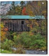 Vermont Rural Autumn Beauty Acrylic Print