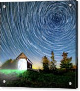 Vermont Starry Night Acrylic Print