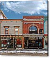 Vermont Street Scene Acrylic Print