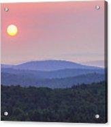Vermont Sunrise Acrylic Print