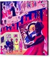 Verna Acrylic Print by Nina Talbot