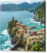 Vernazza, Cinque Terre, Liguria, Italy Acrylic Print