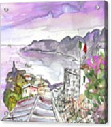 Vernazza In Italy 03 Acrylic Print