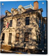 Vernon House Newport Rhode Island Acrylic Print