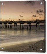 Vero Beach Sunrise Acrylic Print
