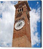 Verona Italy - Beautiful Torre Dei Lamberti Acrylic Print