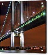Verrazano Bridge Acrylic Print