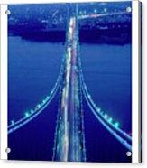 Verrazano Bridge, Ny Acrylic Print