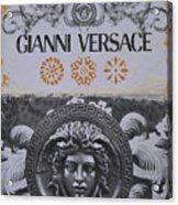 Versace Logo Acrylic Print