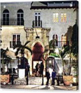 Versace Mansion South Beach Acrylic Print