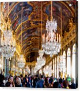 Versaille Assembly Acrylic Print