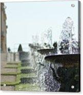Versailles Fountains Acrylic Print