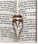 Verse 22 Acrylic Print