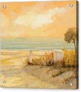 Verso La Spiaggia Acrylic Print