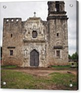 Vertical Mission Facade Acrylic Print