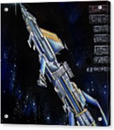 Very Big Space Shuttle Of Alien Civilization Acrylic Print