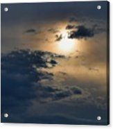 Very Hazy Sunset Acrylic Print