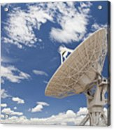 Very Large Array Antenna Acrylic Print by Bryan Mullennix