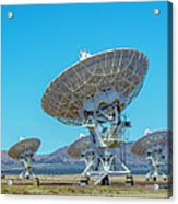 Very Large Array Side View Acrylic Print