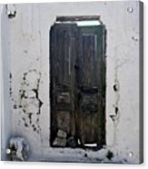 Very Old Door Acrylic Print