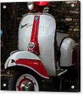 Vespa Italiana Acrylic Print
