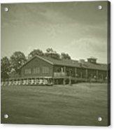 Vesper Hills Golf Club Tully New York Antique 01 Acrylic Print