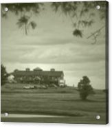 Vesper Hills Golf Club Tully New York Antique 02 Acrylic Print