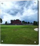 Vesper Hills Golf Club Tully New York Before The Storm Acrylic Print
