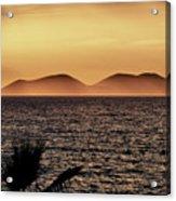 vest i Vlora. Sazan Island Acrylic Print