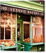Vesuvio Bakery Acrylic Print