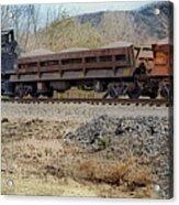 Vesuvius Train Acrylic Print