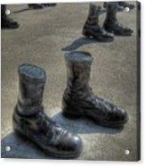 Veteran's Memorial Walk Acrylic Print