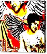 Vexed Angel Acrylic Print