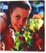 Vg Bahamas At 13 Acrylic Print