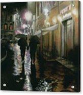 Via Della Spada - Firenze, Italia Acrylic Print