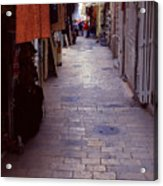 Via Dolorosa The Way Of Sorrow Acrylic Print