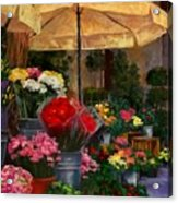 Vibrant Blooms Acrylic Print